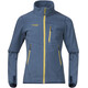 Bergans Youth Runde Jacket Steel Blue/Yellowgreen/Dark Steel Blue